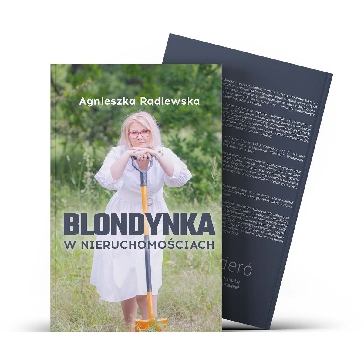 Blondynka w nieruchomościach - okładka